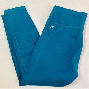 Fabletics green Capri leggings